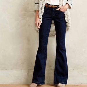 Pilcro and Letterpress Stet Flare Jeans